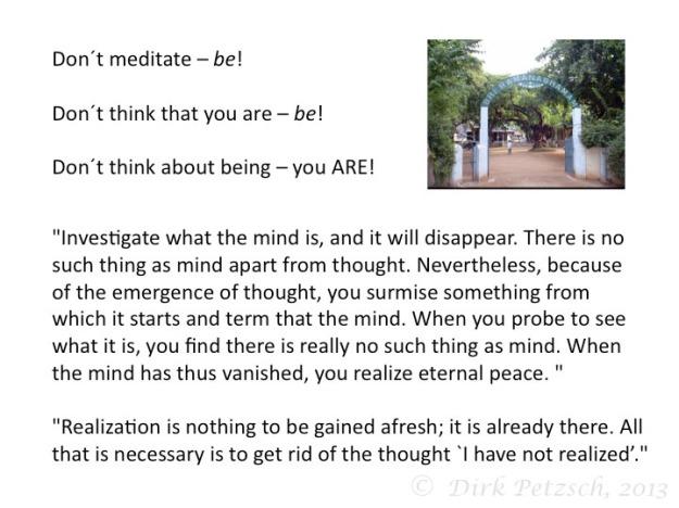 advaita maharshi non-dualiy