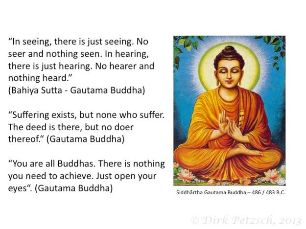 non-duality buddha