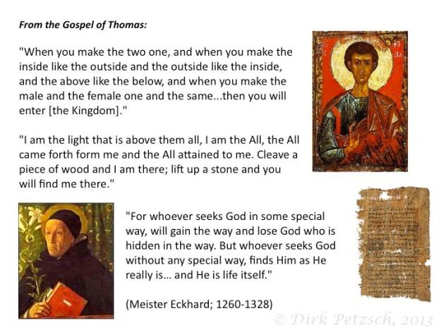 non-duality gospel
